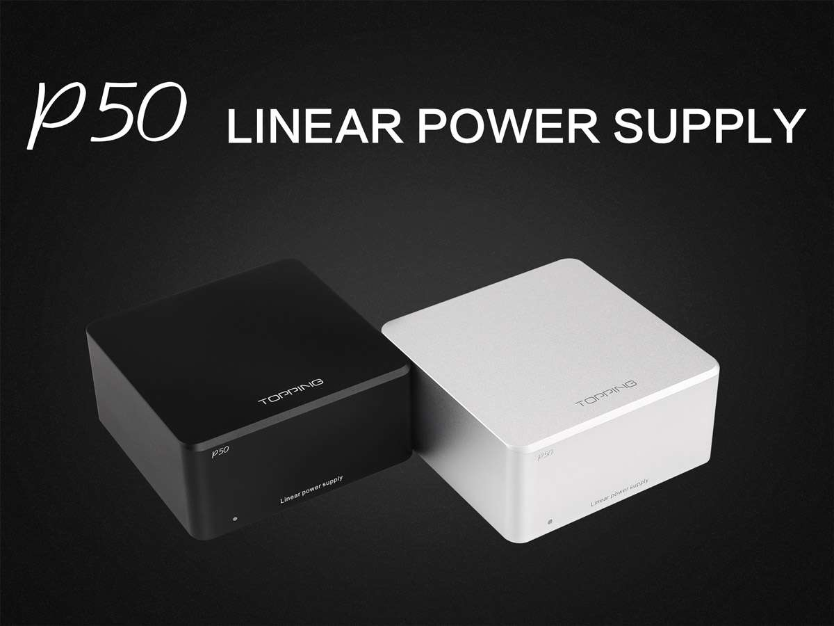 Topping P50 Linear Power Supply