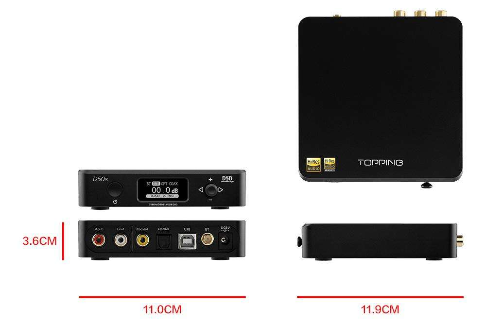 Topping D50s Dac